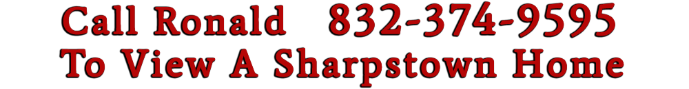 Call Ronald to buy a Sharpstown Home
