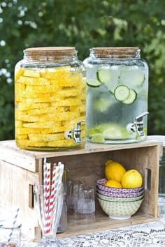 drinks for a summertime home sale
